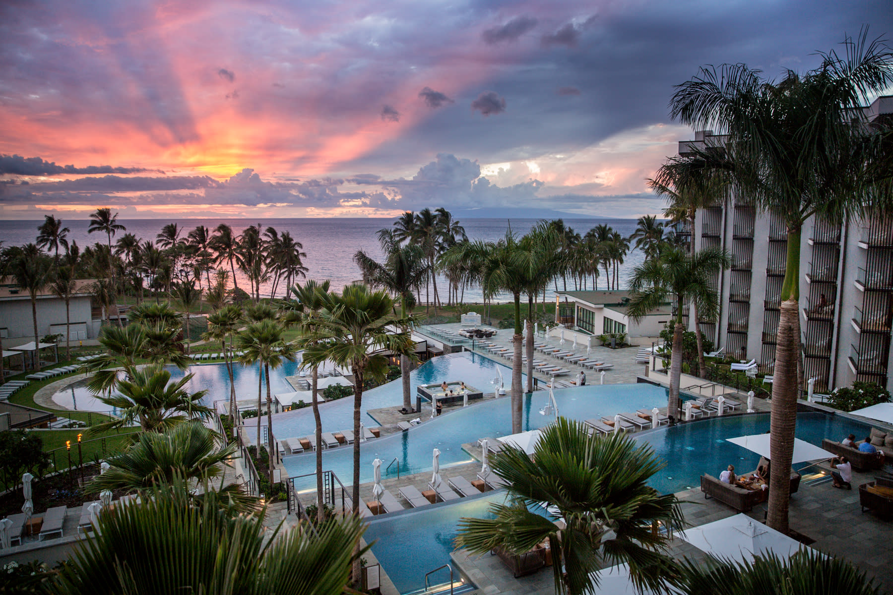 Andaz Maui Pool Deck